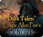 Dark Tales: Edgar Allan Poe's Lenore játék