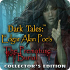 Dark Tales: Edgar Allan Poe's The Premature Burial Collector's Edition játék
