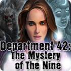 Department 42: The Mystery of the Nine játék