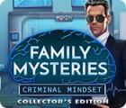 Family Mysteries: Criminal Mindset Collector's Edition játék