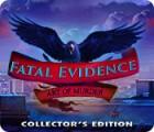 Fatal Evidence: Art of Murder Collector's Edition játék