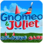 Gnomeo and Juliet Coloring játék