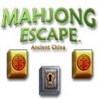 Mahjong Escape Ancient China játék
