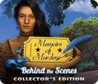 Memoirs of Murder: Behind the Scenes Collector's Edition játék