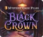 Mystery Case Files: Black Crown játék