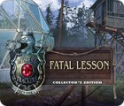 Mystery Trackers: Fatal Lesson Collector's Edition játék