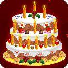 Újévi süti díszités - New Year Cake Decoration  Karácsonyi és télapós ingyen online játékok