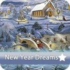 Újévi álmok különbségkereső - New Year Dreams - Karácsonyi és télapós ingyen online játékok