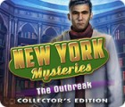 New York Mysteries: The Outbreak Collector's Edition játék