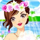 Tökéletes menyasszony - Perfect Bride - Lányos öltöztetős és sminkelős játékok kicsiknek és nagyoknak