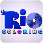 Rio film: színező játékok Kicsiknek, gyerekeknek való ingyen online játékok