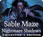 Sable Maze: Nightmare Shadows Collector's Edition játék