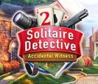 Solitaire Detective 2: Accidental Witness játék