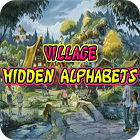 Village Hidden Alphabets játék