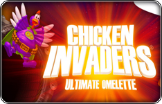 Chicken Invaders 4: Ultimate Omelette prémium játék