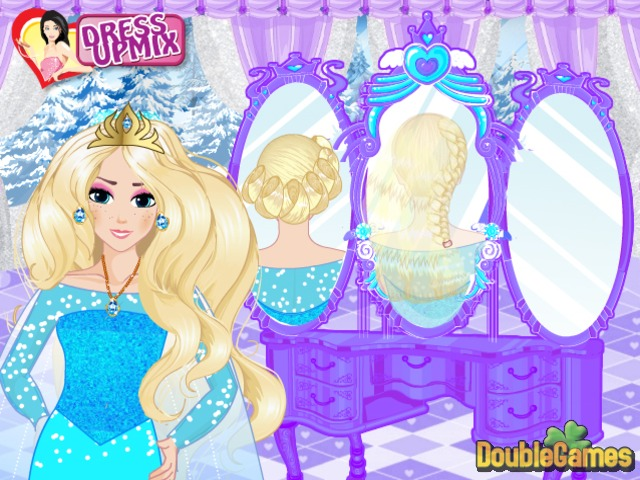 Free Download Frozen. Elsa Royal Hairstyles Screenshot 1