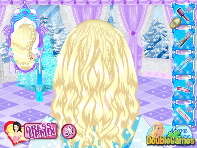 Free Download Frozen. Elsa Royal Hairstyles Screenshot 2