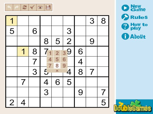 Free Download Mix Sudoku Light Screenshot 1