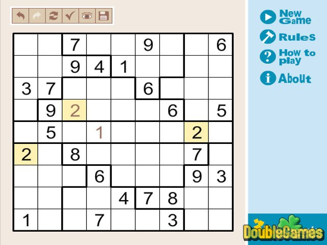 Free Download Mix Sudoku Light Screenshot 2