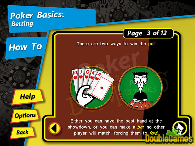 Free Download Poker for Dummies Screenshot 2