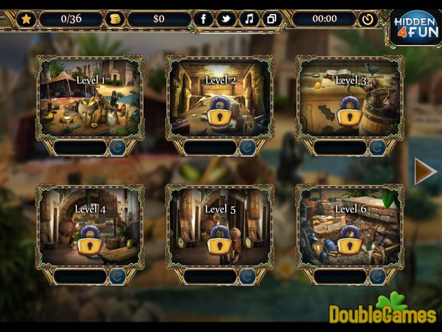 Free Download Valley Of Pharaohs Screenshot 1