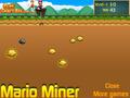 Super Mario a bányász ingyen online flash játékok