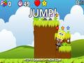 Spongyabob szuper ugrása - Spongyabob kockanadrág ingyen online flash játékok